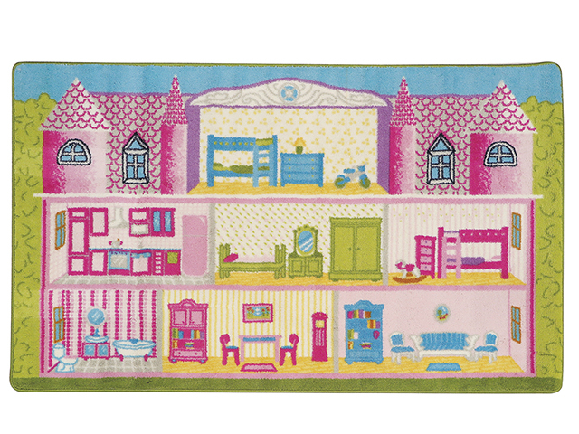 Game House 100*160 Pembe 9 Mm